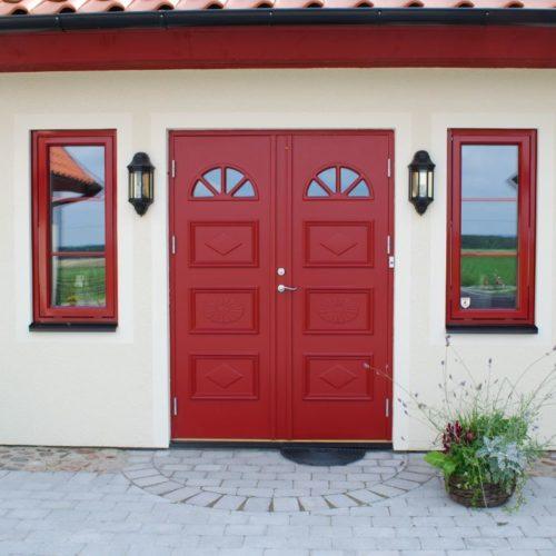 röd-dörr